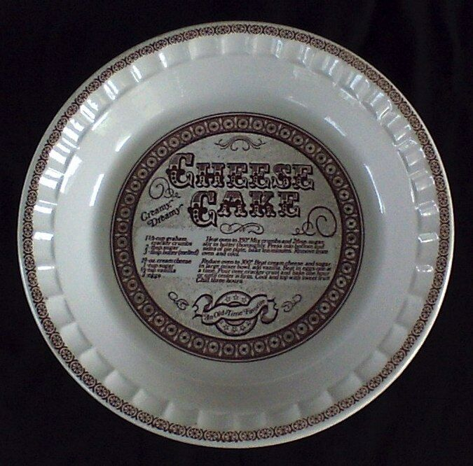 Vintage Royal China Jeanette Cheese Cake Plate Usa Ebay