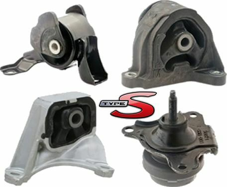 02 03 04 05 06 rsx type s engine motor mount set of 4 ebay. Black Bedroom Furniture Sets. Home Design Ideas