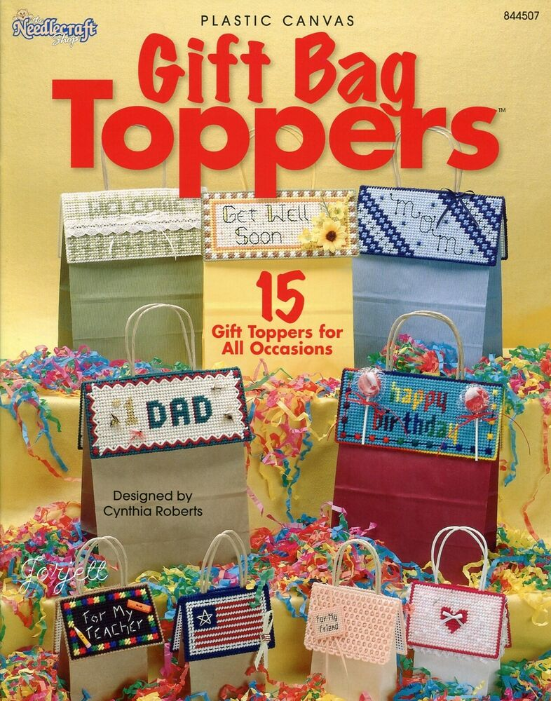 Gift Bag Toppers 15 Special Occasions Holidays Tops Plastic