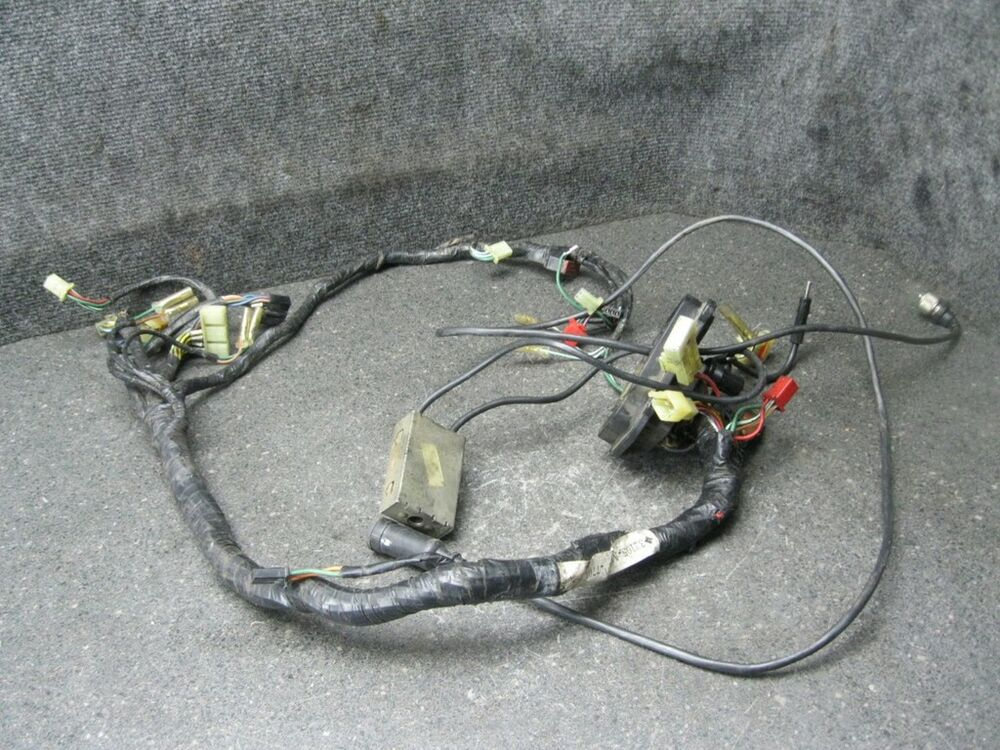 86 Honda Goldwing Gl1200 Gl 1200 Sub Wiring Harness 17b