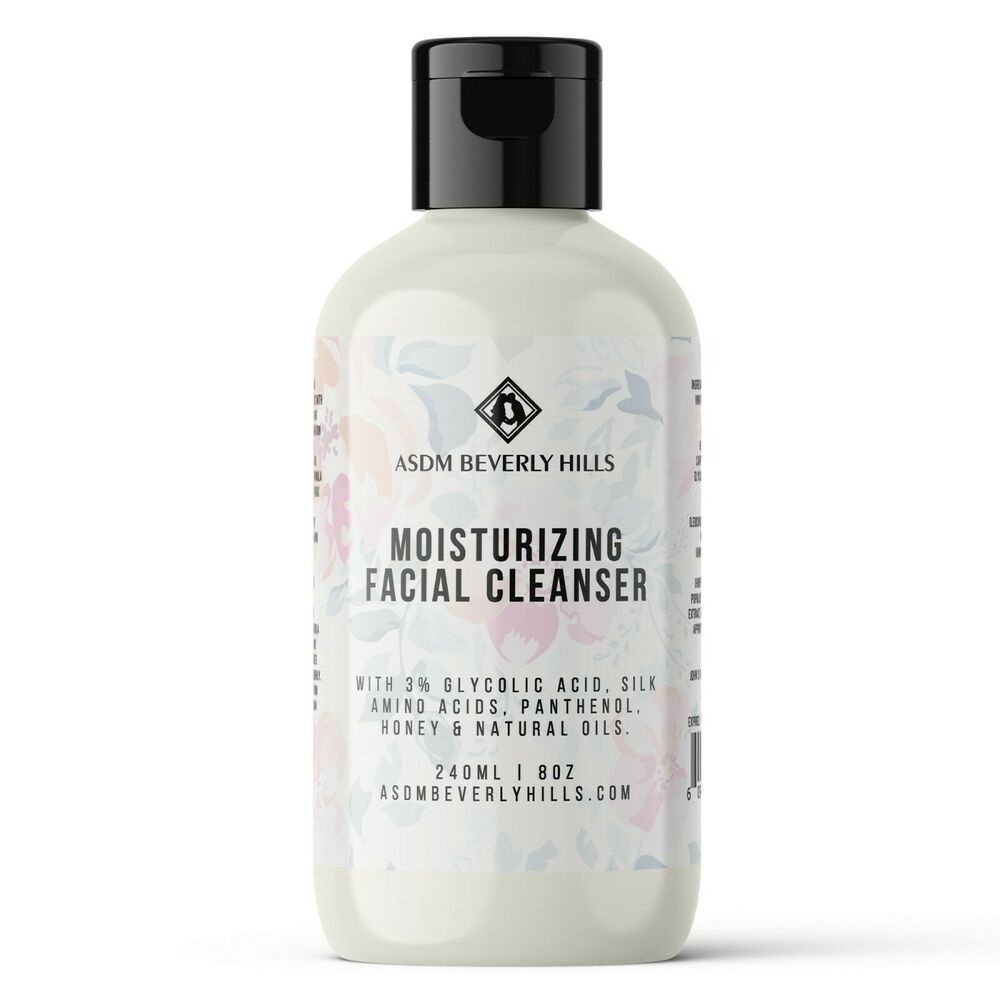 Organic Facial Cleanser Gentle Makeup Remover