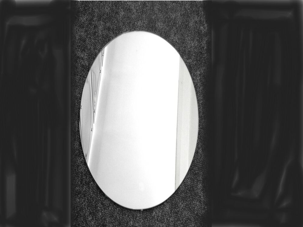 Beautiful Small Oval Mirror Self Adhesive 3 Sizes Ebay