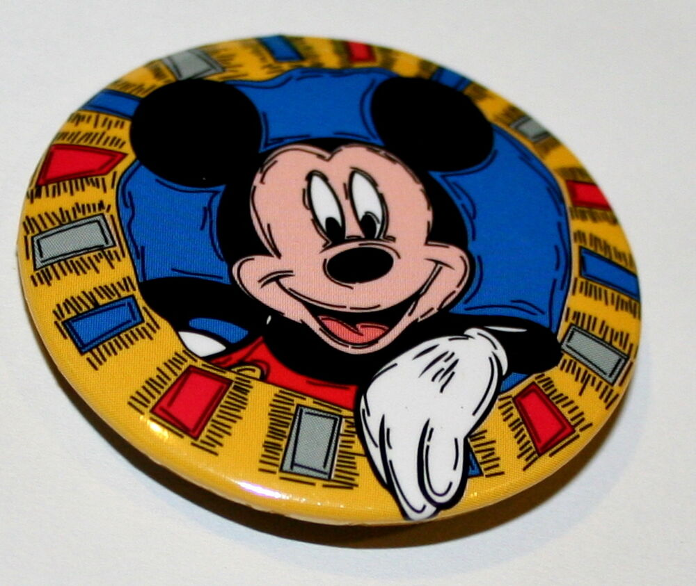 how to change a mickey button