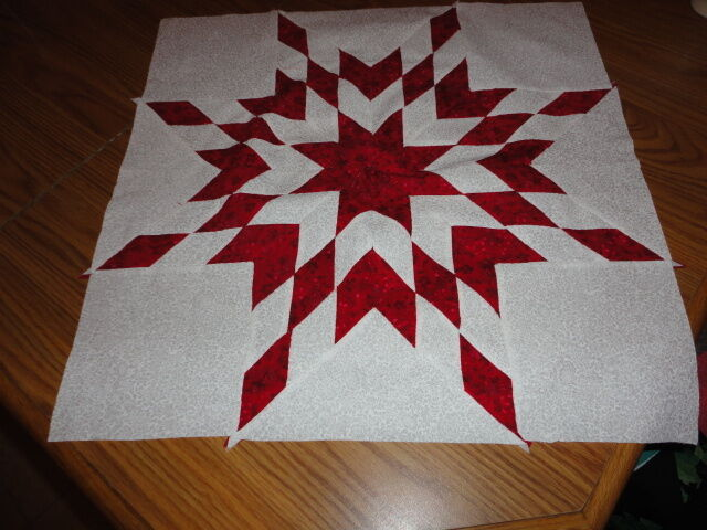 Plastic Templates -Diamond Star Of Bethlehem Quilt