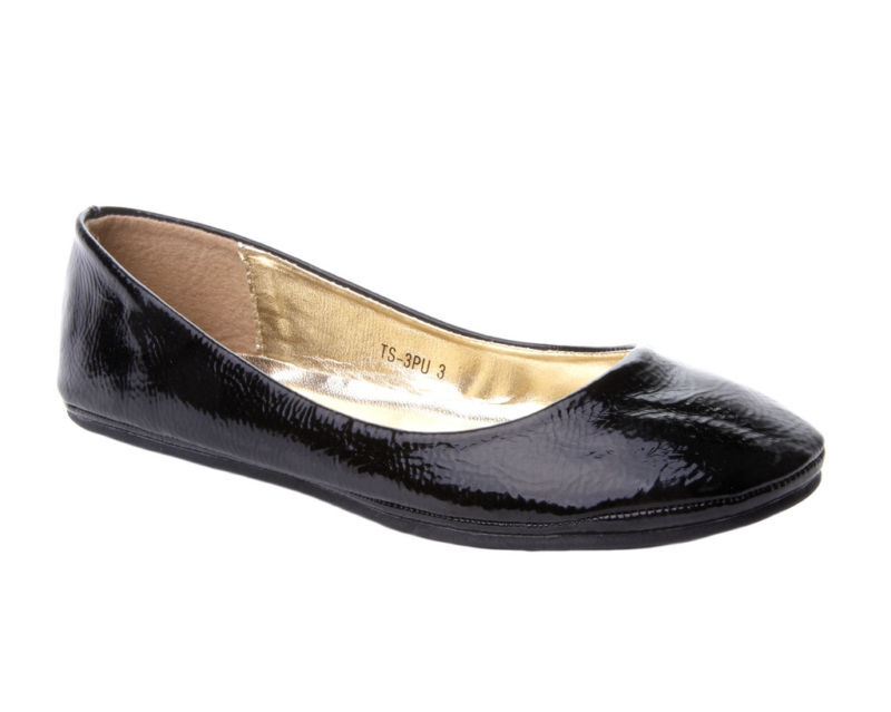 Black Patent Flat Shoes Uk