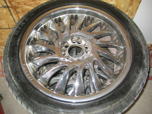 cabinet wheels used chrome18 quot greed wheel 5 lug 4 53 inch or 115 mm 13078