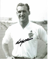 1958 FA CUP NAT LOFTHOUSE signed 10x8 BOLTON WANDERERS