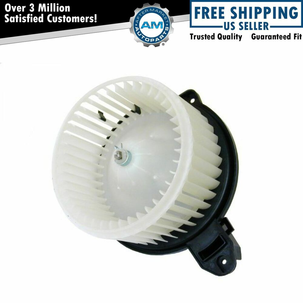 Heater blower motor w cage for audi rs6 s6 a6 allroad ebay for Cost of blower motor for air conditioner
