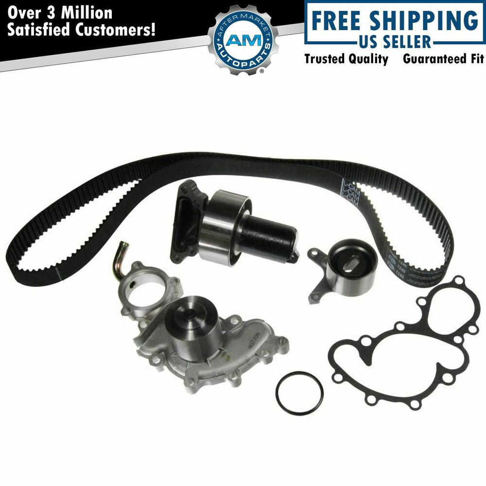 Timing Belt Kit w Water Pump GATES for 89 92 Toyota