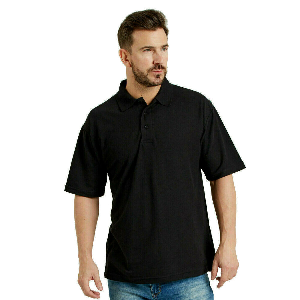 Polo shirt work wear top quality blue black grey white for Best quality polo shirts for men