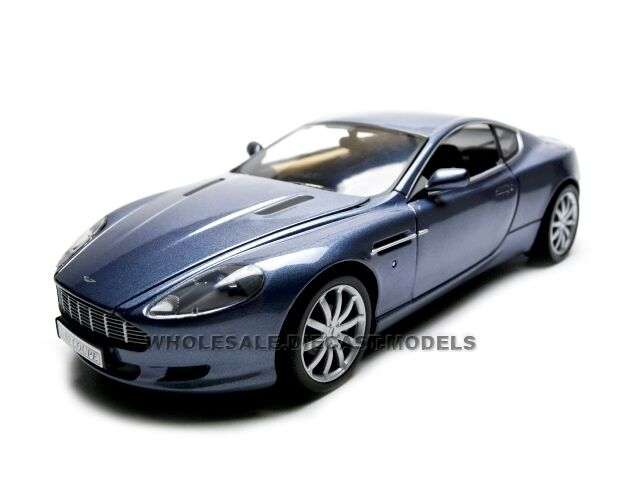 2004 ASTON MARTIN DB9 COUPE BLUE 1:18 DIECAST MODEL CAR BY ...