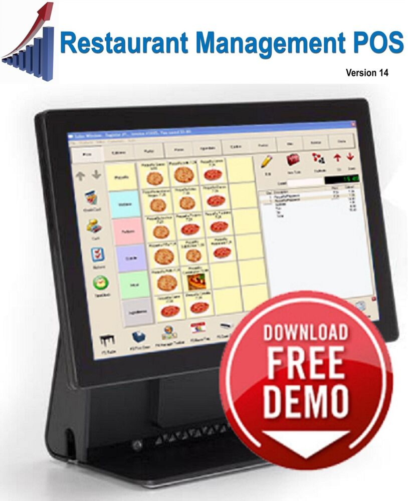 Restaurant Pos System Only Software No Equipment Ebay