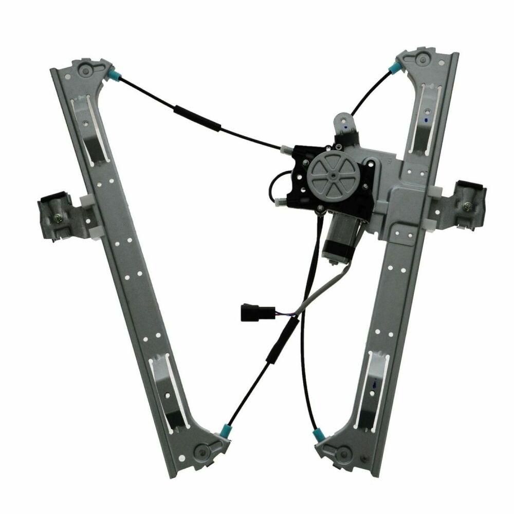 Front Door Power Window Regulator W Motor Driver Side