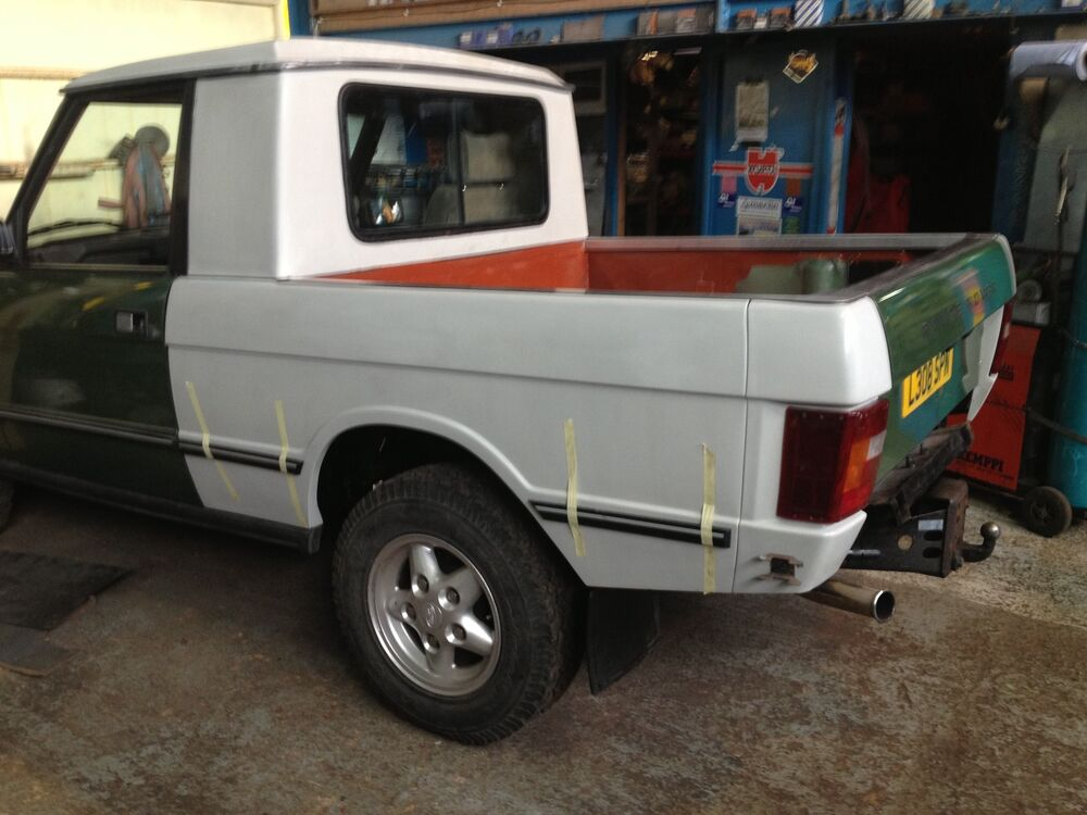 range rover classic pickup truck fiberglass kit project sale price land rover ebay. Black Bedroom Furniture Sets. Home Design Ideas
