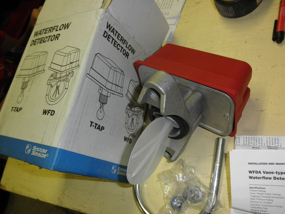 Waterflow Detector System Wfd40a System Sensor 4 Quot Ebay