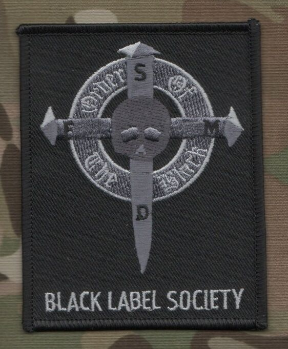 Black label society brewtality patches