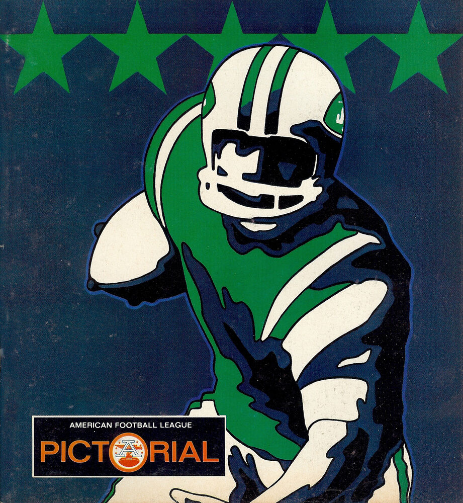 Details about New York Jets - Artistic Game Program Cover (1969) from 9a887d24b