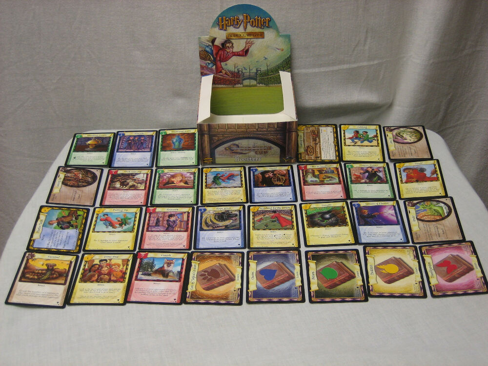 Harry Potter Trading Card Game Quidditch Cup Complete Commons Set NEW | eBay