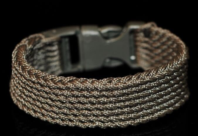 Type I Paracord 550 Cord Rescue Survival Bracelet See