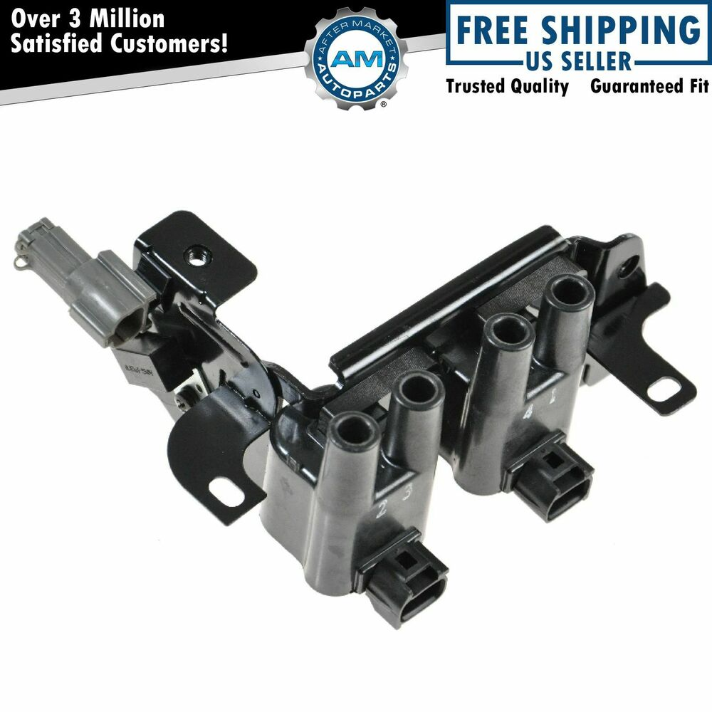 ignition coil pack new for 01 06 hyundai accent 1 6l dohc. Black Bedroom Furniture Sets. Home Design Ideas