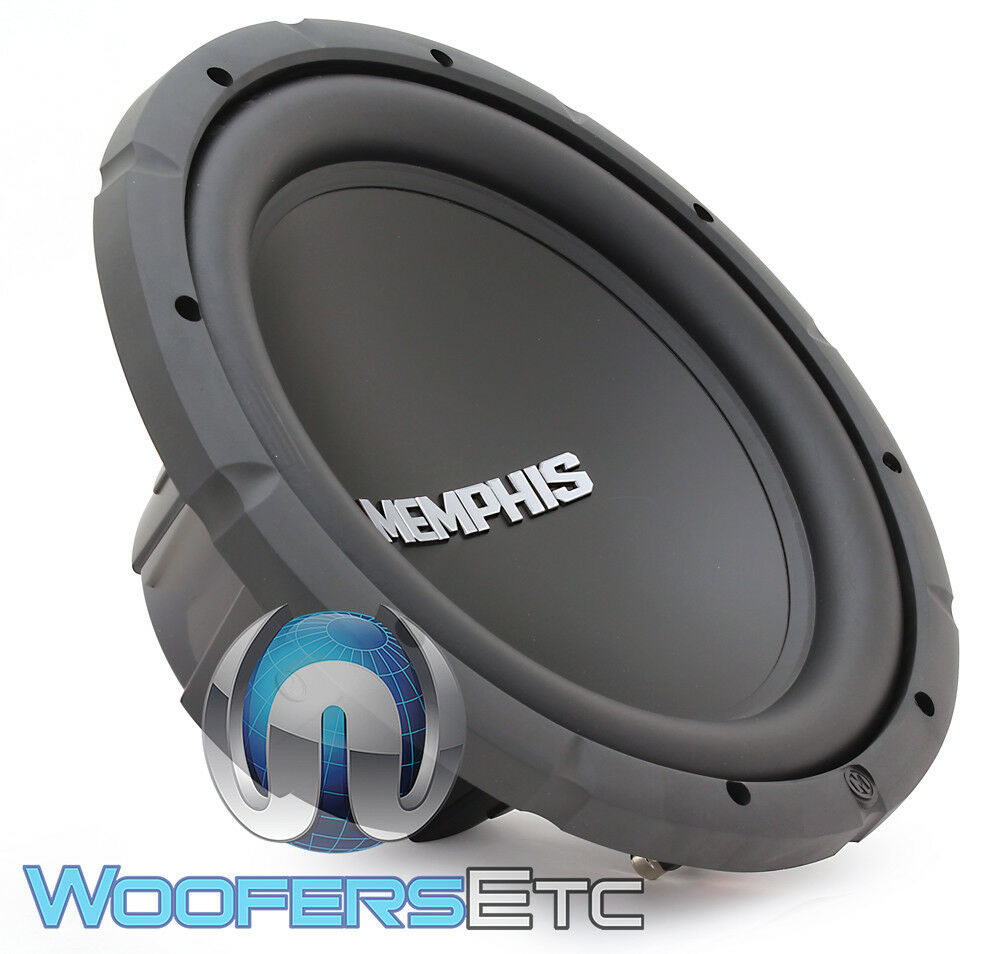 "MEMPHIS SRX12S4 12"" SUB 500W MAX SUBWOOFER 4 OHM CAR AUDIO"