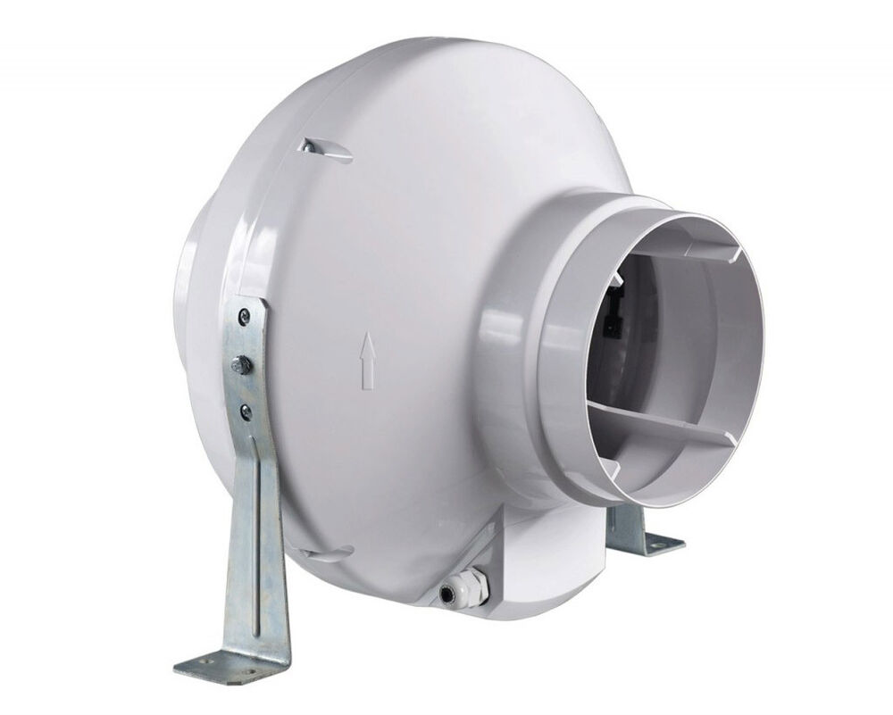 8 in line fan centrifugal hydroponic grow room duct extractor fan 780m3 h ebay for In line centrifugal bathroom fan