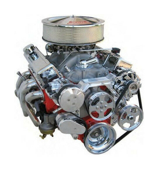 Small Block Chevy W Power Steering Bright Front Runner