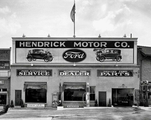 ford dealership photo 8x10 maryland 1928 b amp w ebay. Cars Review. Best American Auto & Cars Review
