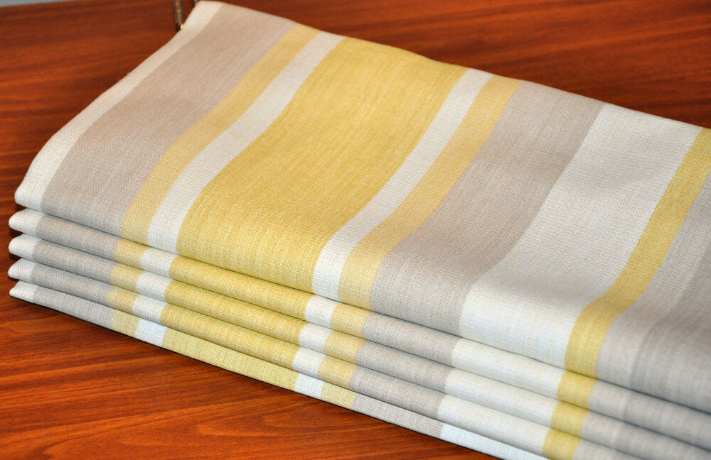 Roman Blind Made To Measure In Laura Ashley Awning Stripe