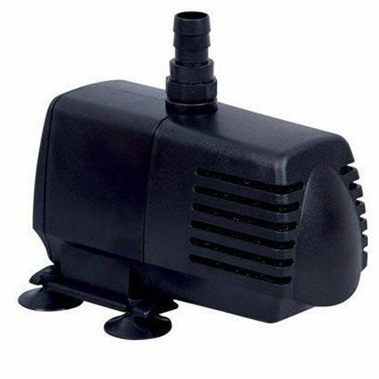 Ecoplus 396 submersible water pump 396 gph eco396 for Hydroponic pump