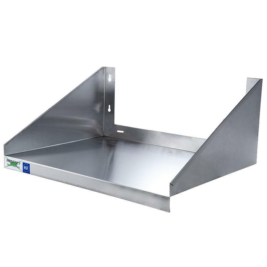24 X 18 Stainless Steel Microwave Shelf Ebay