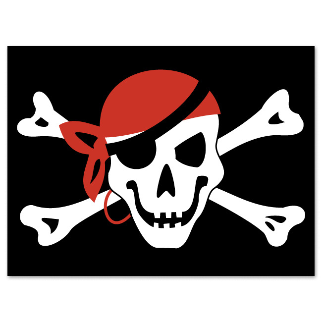 Pirate Flag Jolly Roger Pirate Fla...