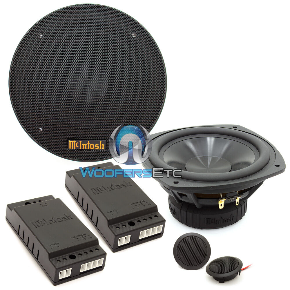mss630 mcintosh component speakers tweeters mids x overs great clear sound new 634630482990 ebay. Black Bedroom Furniture Sets. Home Design Ideas