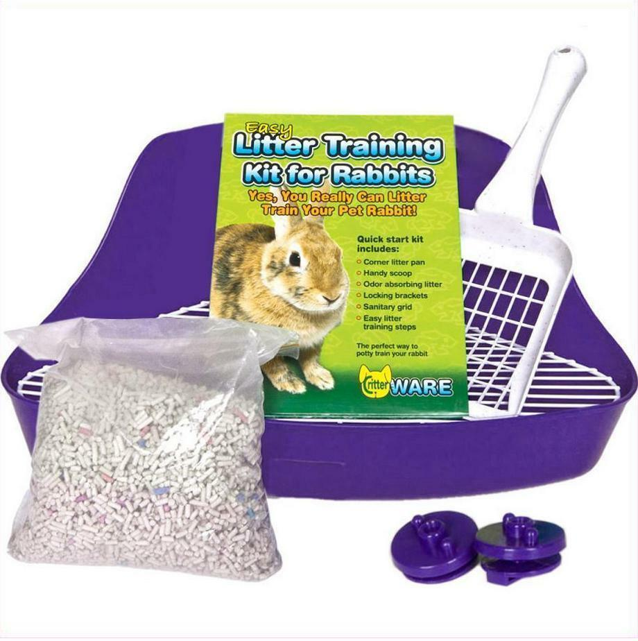 how to change a rabbits litter box