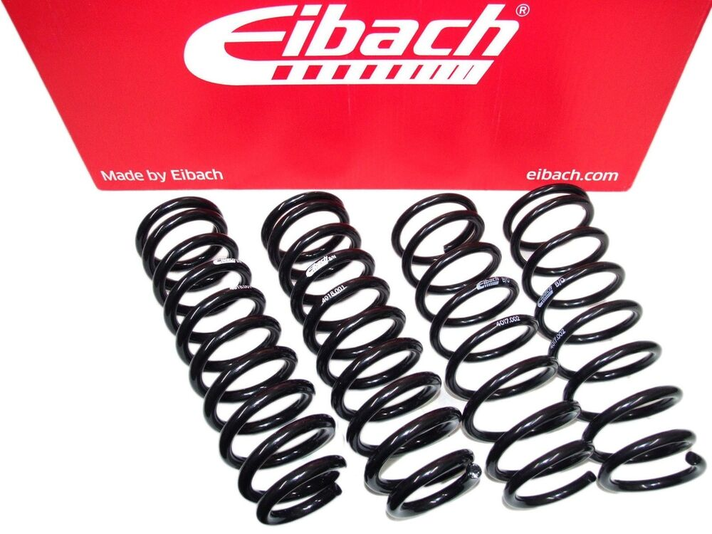 eibach pro kit lowering springs set 00 04 audi a6 c5. Black Bedroom Furniture Sets. Home Design Ideas