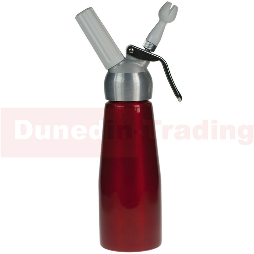 500ml whipped cream dispenser nitrous oxide whipper nos n2o uses 8g charger ebay. Black Bedroom Furniture Sets. Home Design Ideas