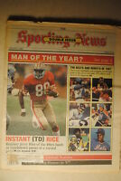 1988 The Sporting News-San Francisco 49ers Jerry Rice Double Issue