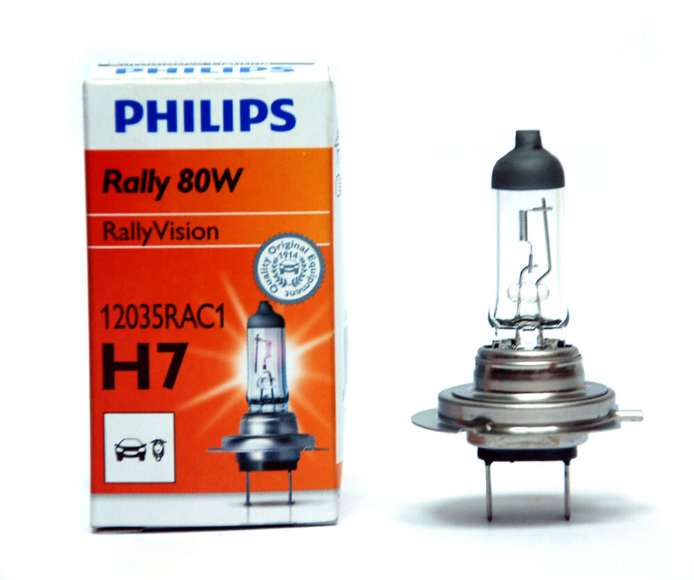 1pc philips headlighting lamp automotive lighting rally h7