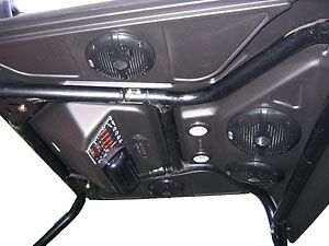 J Strong Utv Roof Top Cover Amp Bluetooth Blue Tooth Stereo