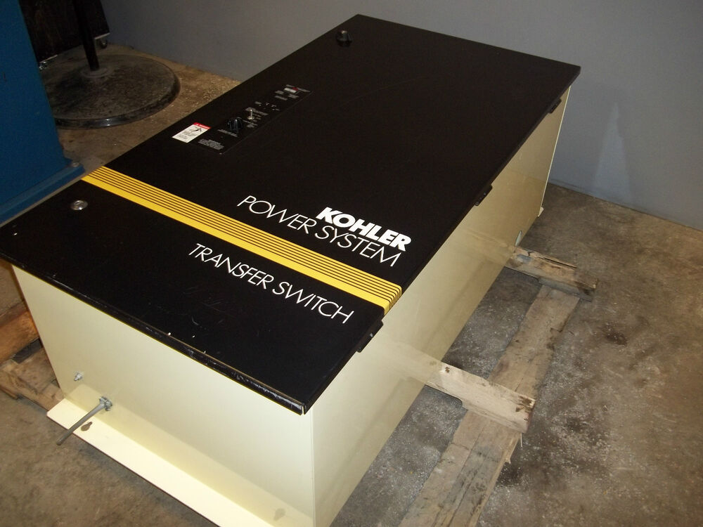 Kohler Automatic Transfer Switch Model Zcs