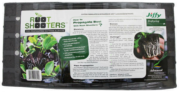 Advanced Nutrients Root Shooters 50 Plug Cell Tray Cloning