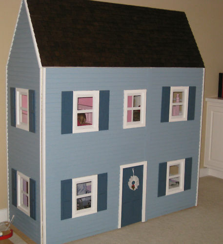 American Girl Dollhouse Plans Template Kit Ebay