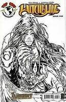 MICHAEL TURNER sketch variant WITCHBLADE #103 RRP image TOP COW COMIC 1st print