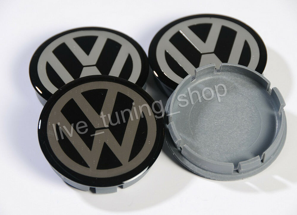 vw 4x 60mm felgendeckel nabendeckel radnabendeckel nabenkappen neu ebay. Black Bedroom Furniture Sets. Home Design Ideas