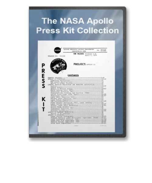 Nasa apollo 6 17 soyuz press release kit collection for Nasa press release