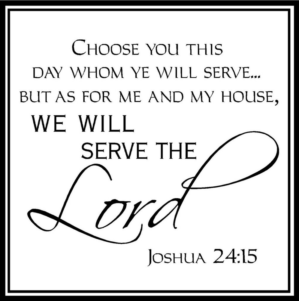 My House Will Serve The Lord Coloring Page