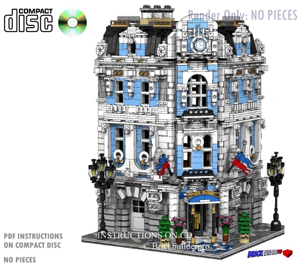 lego city corner instructions