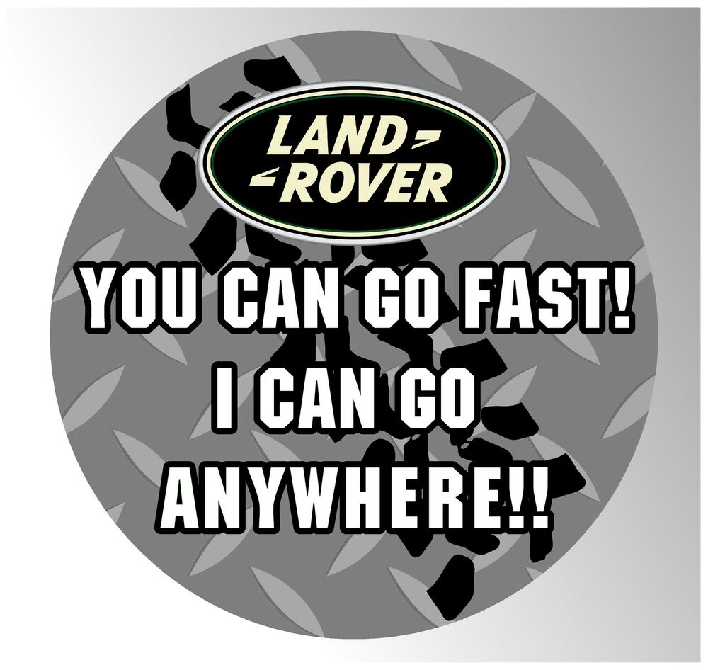 Landrover Discovery Side Stripe Decals Stickers Land Rover: 550MM SPARE WHEEL COVER STICKER DECAL 4X4 LAND ROVER