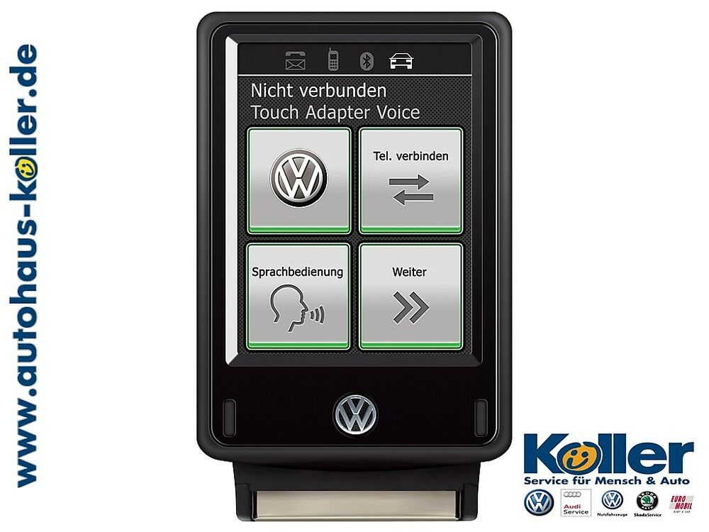 original vw bluetooth touch adapter 2 voice 3c0051435tb neu ovp vw h ndler ebay. Black Bedroom Furniture Sets. Home Design Ideas