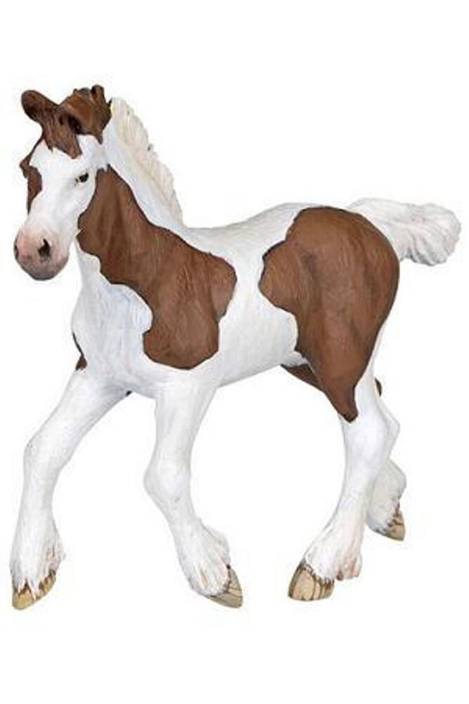 Papo Cob Bay Foal Baby Horse Toy Figure 51514 New Ebay